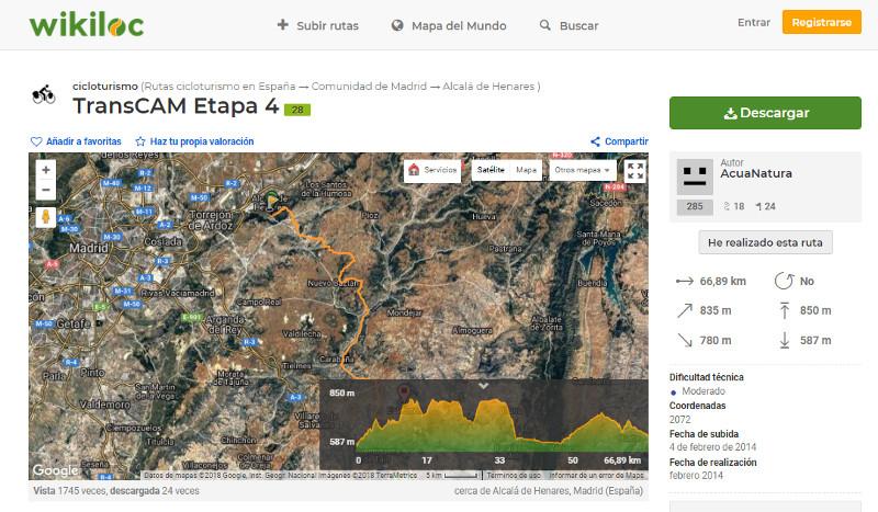 Wikiloc - información de rutas