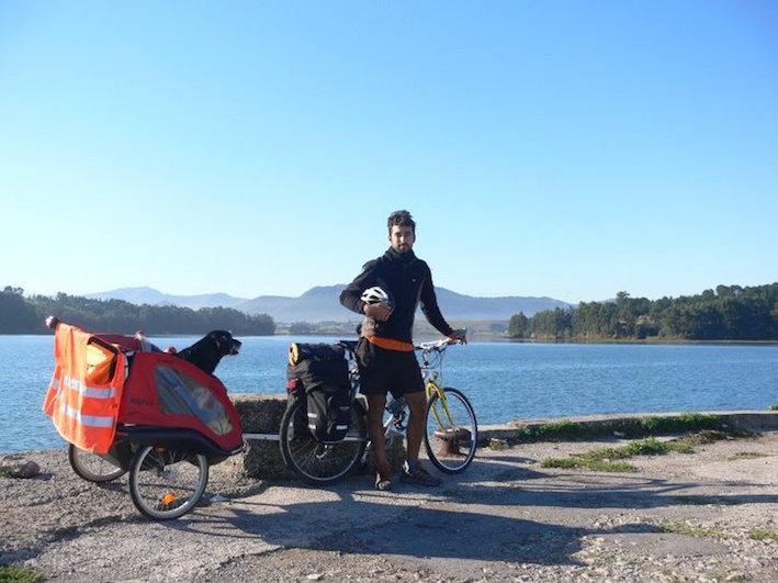Pablo y Negrito, su primer viaje en 2010